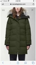 Canada Goose Shelburne Parka Womens Size S Military Green
