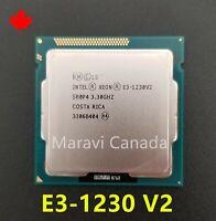 Intel Xeon E3-1230 V2 SR0P4 3.3Ghz Quad 4 Core LGA 1155 CPU Processor