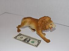 "Vintage Animal Toy Model Imperial Brand Plastic PVC Large Lion Figure 11"""