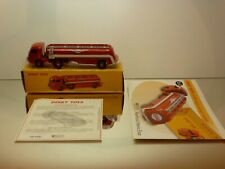 DINKY TOYS ATLAS 32C PANHARD TRUCK + ESSO TANKER - RED 1:43 - EXCELLENT IN BOX