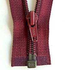 Zip Merlot 021 Divisible Size 5 YKK, Opti Zipper Cipzár Змійка