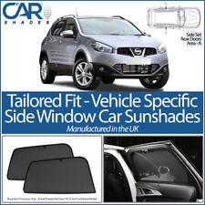 NISSAN QASHQAI 5DR 07-13 CAR SHADES UK TAILORED UV SIDE WINDOW SUN BLINDS