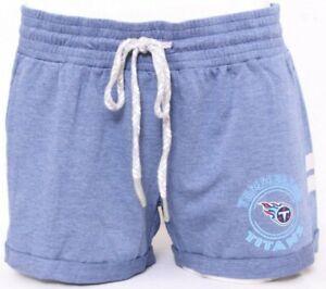 NEW Tennessee Titans NFL Team Apparel Blue Pockets Sleepwear Shorts Women's M