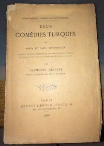 TURQUIE.DEUX COMÉDIES TURQUES. 1888 (MIRZA FÈTH-ALI AKHOND-ZADI).