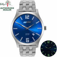 ArmourLite Watch - Isobrite Grand Slimline Series ISO913 - Stainless Steel Blue