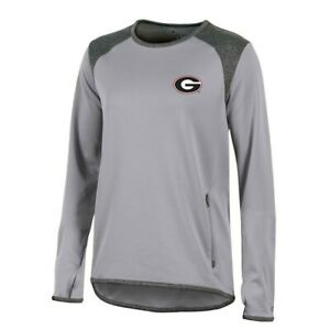 Georgia Bulldogs NCAA Champion Women's (Grey) Athletic Tech Perf. Crew