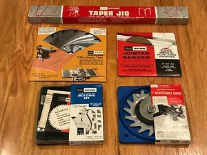 """Sears Craftsman 10"""" Table Saw Accessories Kit"""