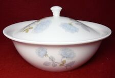 WEDGWOOD china ICE ROSE pattern Round Covered Vegetable Serving Bowl & Lid