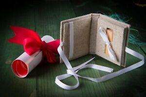 Handmade wedding wood box for USB stick Drive for wedding or family photo