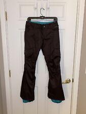 Burton Women's Shawn White Edition Slim Snowboarding Pants Brown Size XS