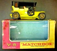 Matchbox Models of Yesteryear Y-5 1907 Peugeot 1969 Boxed