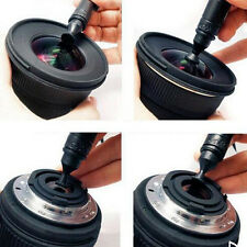 New 3 in 1 Lens Cleaning DSLR VCR Camera Dust Pen Blower Cloth Cleaner Kit