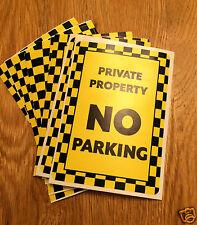 No hay etiqueta engomada de estacionamiento, difícil de quitar la etiqueta engomada, no hay aparcamiento disuasorio Pegatina V3
