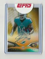 JARVIS LANDRY 2014 Topps Platinum Rookie Autograph GOLD REFRACTOR AUTO 11/15 RC