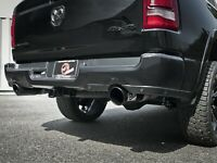 AFE 2019-2021 DODGE RAM 1500 5.7L V8 MACH FORCE XP DUAL EXIT EXHAUST BLACK TIPS