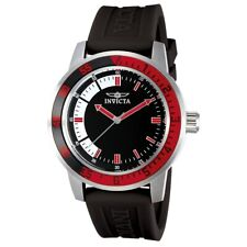 Invicta Men's IN-12845 Specialty 45mm Black and White Dial Polyurethane Watch