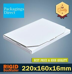 Superflat Mailing Box Large Letter Envelope A6 A5 A4 Rigid Flat Mailer