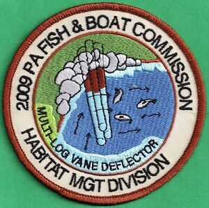 PLAY Patch Pa Pennsylvania Fish Game Commission 1992 Chain Pickerel Fishing