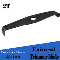 1 X 2T Universal Brush Cutter Strimmer Mulching Trimmer Blade 310mmx25.4mm Tool