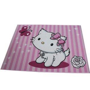 Kinderpielteppich Teppich Sanrio CHARMMY KITTY 04 Butterfly 95x133 cm NEU