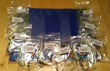 10 x mixed pennel rigs Hand Made rigs with rig wallet  good for cod bass etc