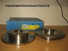 DISQUES DE FREIN AVANT RENAULT 18 R18 FUEGO REFERENCE D866