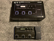 More details for boss gt-1 guitar effects processor - boxed with manual