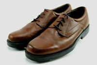 Bostonian Men's $120 Comfort Casual Shoes Size 11.5 Brown Leather