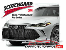 2019 Toyota Avalon 3M Pro Series Clear Bra Front Bumper Paint Protection Kit