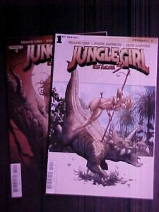JUNGLE GIRL SEASON 3 #1 and #2! FRANK CHO! 2015 DYNAMITE