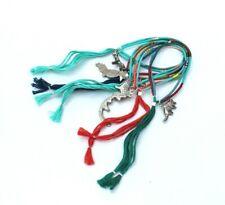 MIYUKI Delica a thread bracelet set of three with vintage charm. Handmade