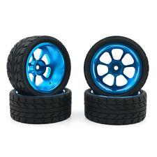 For Wltoys 1:18 A959-B A979-B A959 A969 Alloy Rims and Tires RC Car Wheels 4pcs