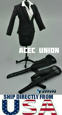 """1/6 Women Business Career Pencil Skirt Suits Set For 12"""" Hot Toys U.S.A. SELLER"""
