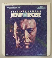 The Enforcer Clint Eastwood,Kate Moore CED RCA Selectavision VideoDisc