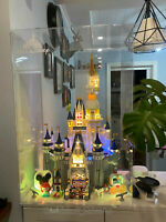 Acrylic Display Case with lettering for LEGO The Disney Castle 71040 100% Rating