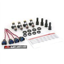 GRAMS 1600CC FUEL INJECTOR SET FOR 88-01 HONDA B16/B18/B20/D15/D16/F22A/F22B/H22