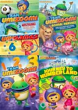 Team Umizoomi DVD Set TV Show Series Lot Episode Collection All Kids Children R1