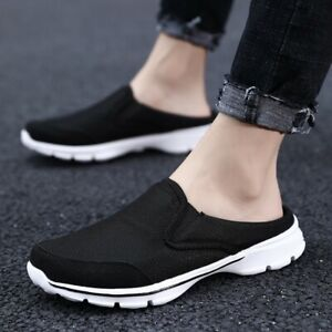 Mens Leisure Breathable Slingbacks Loafers Slippers Pumps Walking Street Shoes