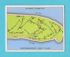 GOLF - PLAYERS - CHAMPIONSHIP GOLF COURSES CARD -  PORTMARNOCK  -  1936