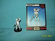WotC Star Wars Miniatures Clone Trooper Grenadier, Clone Strike 09/60, Rep, Com