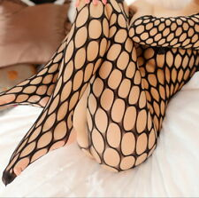 Hot Fishnet BODYSTOCKING Babydoll Sexy Crotchless Bodysuit Lingerie Underwear