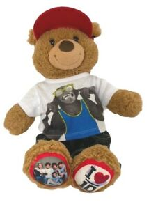 Limited Edition One Direction Build A Bear Teddy Bear Jeans T-Shirt Cap Rare