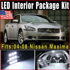 17x SMD White LED Lights Interior Package Deal For 2004-2008 Nissan Maxima