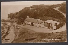 Postcard Isle of Man view of Niarbyl Cottage and Headland RP