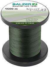 BALZER IronLine8 Angel Schnur 8fach rund geflochten grün 0,30mm 34,8kg à 50m TOP