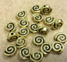 Antiqued Metal Gold Jewellery Making Beads