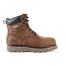 DEWALT Tungsten Men's Brown Leather Puncture Resistant Aluminum Toe Waterprproof