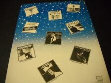JR. WALKER Bottom & Co. THELMA HOUSTON Eddie Kendricks others 1976 PROMO AD mint