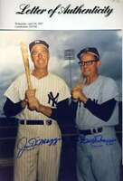 JOE AND DOM DIMAGGIO SIGNED PSA/DNA COA 8X10 PHOTO AUTHENTIC AUTOGRAPH
