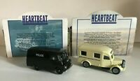 HEARTBEAT POLICE VAN & NORTH RIDING AMBULANCE VINTAGE DIECAST VEHICLES LLEDO